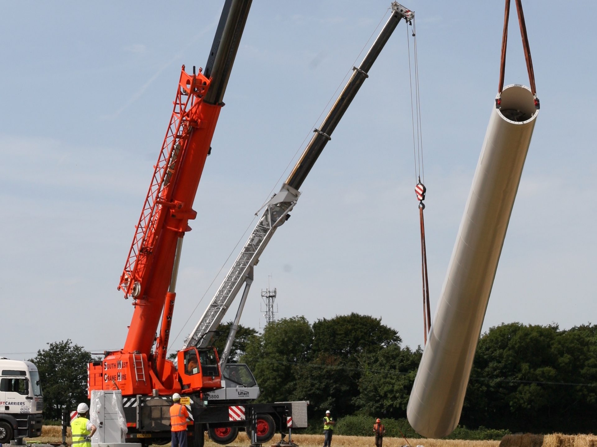 Spectrum Energy Systems - Experts in Wind Turbines - Installation