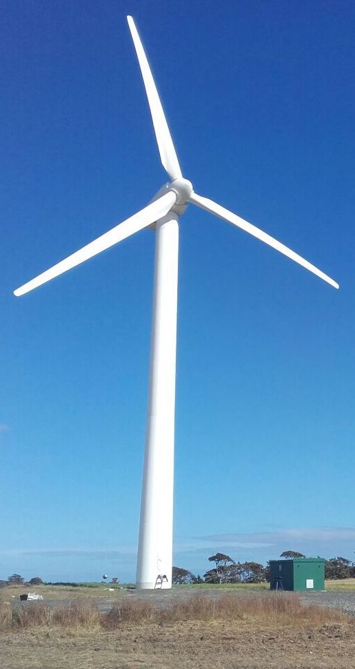 Spectrum Energy Systems - Remanufactured Wind Turbines - Vestas V39