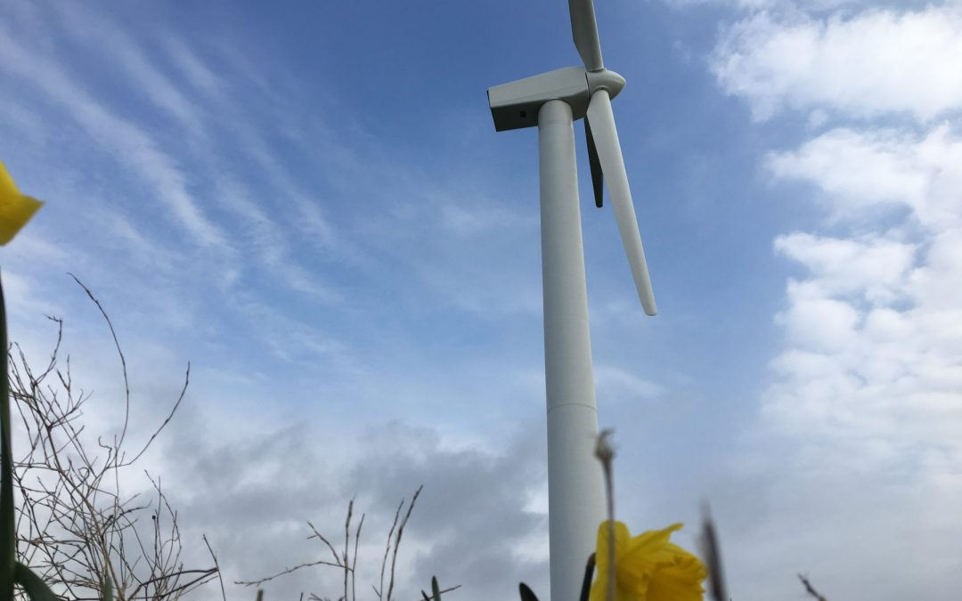Vestas V29 Refurbished Turbine Installed in Abergele, North Wales