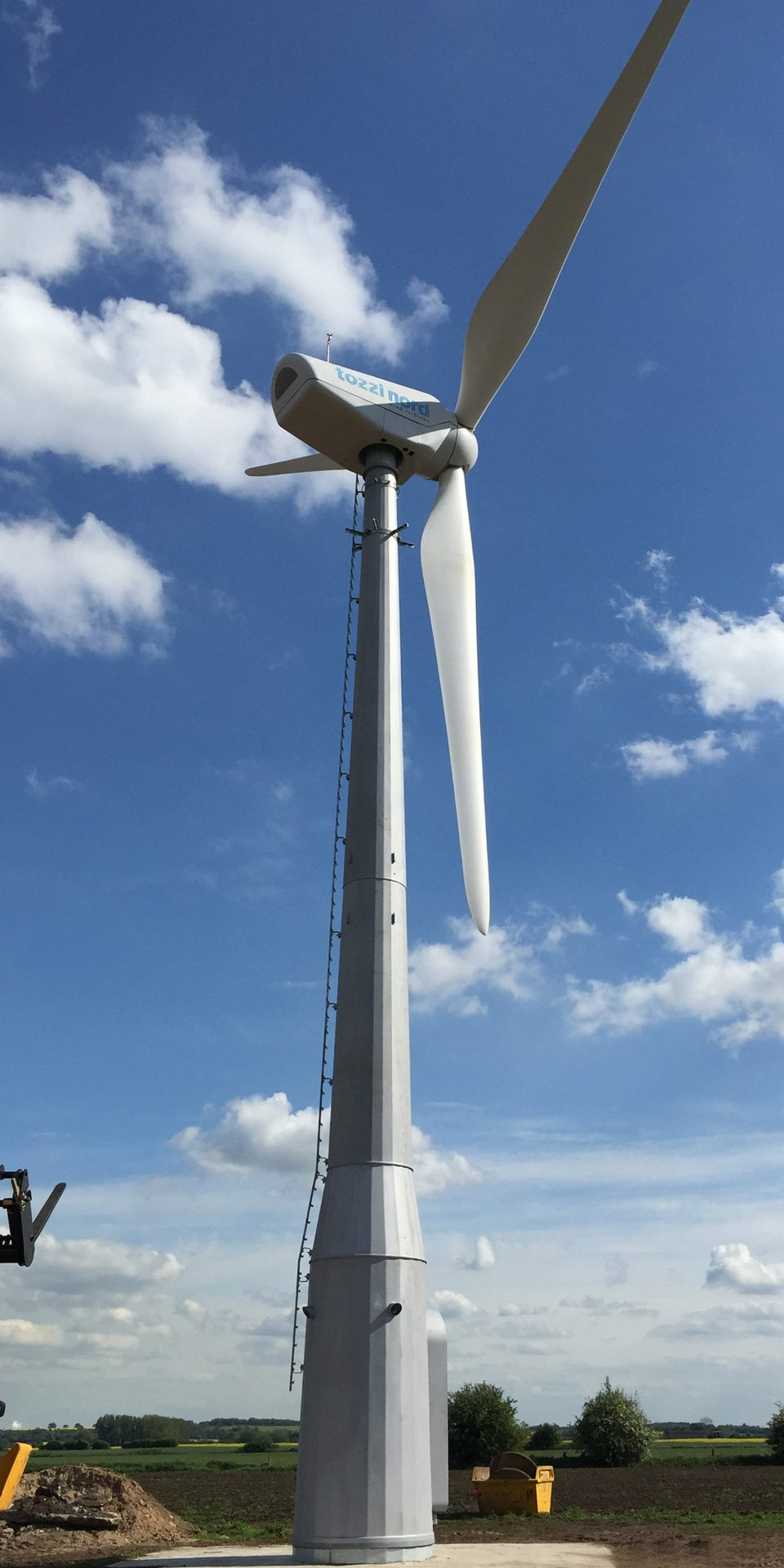 Spectrum Energy Systems - New Wind Turbines - Tozzi Nord TN60