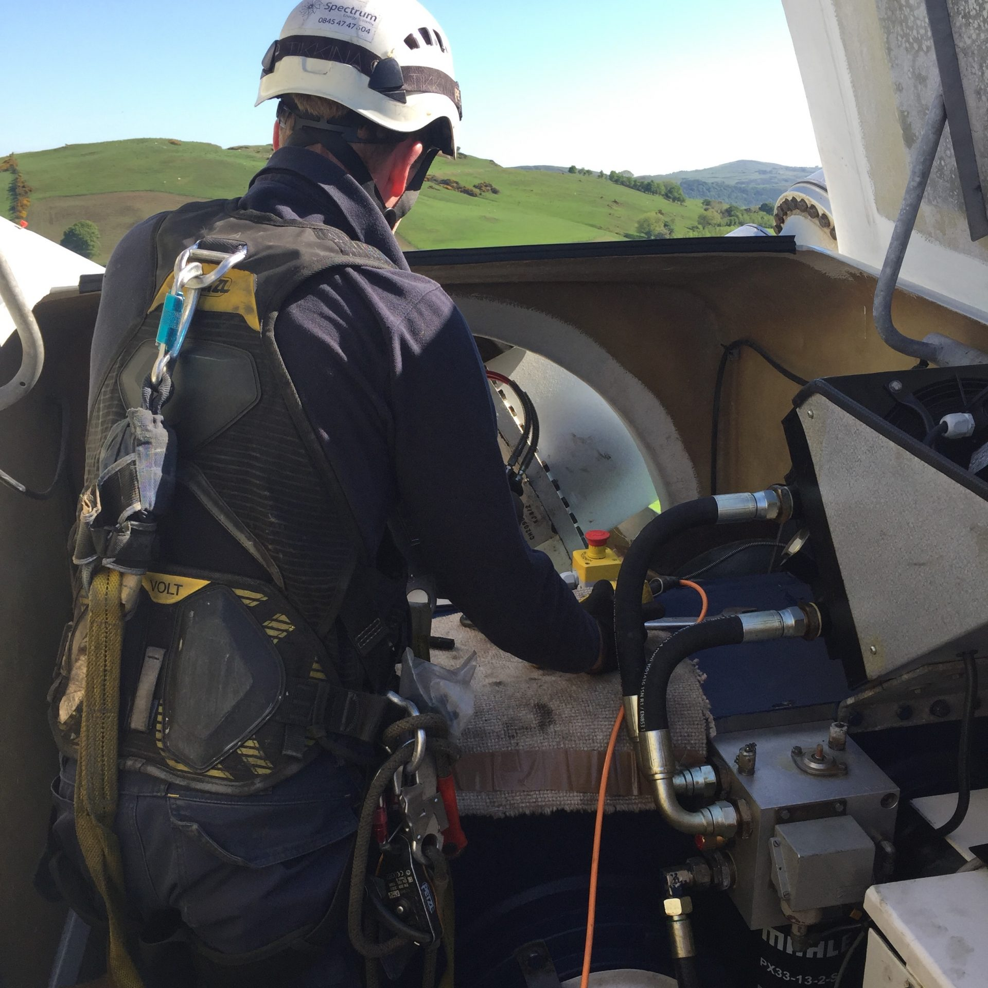 Spectrum Energy Systems - Wind Turbine Servicing