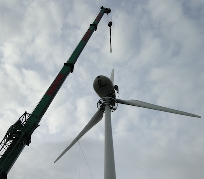 Wind Turbine Installation - Spectrum Energy Systems Ltd - Final